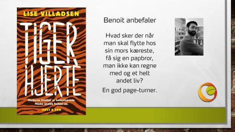 Anbefaling af bogen Tigerhjerte