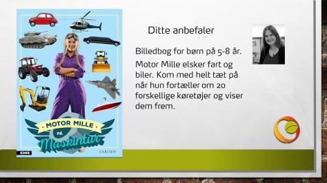 Anbefaling af bogen Motor Mille på maskintur