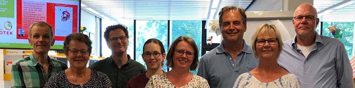 Gruppebillede af medlemmerne af Ikast-Brandes brugernævn