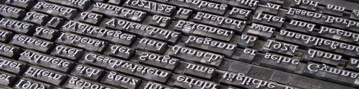 Typografisk trykkeblok
