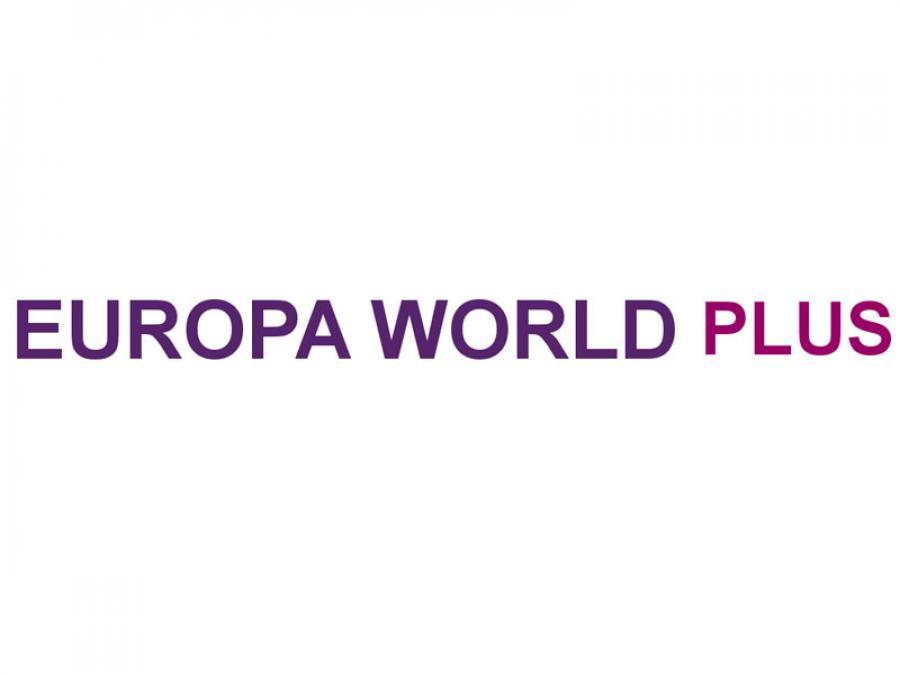 Logo for Europa World Plus