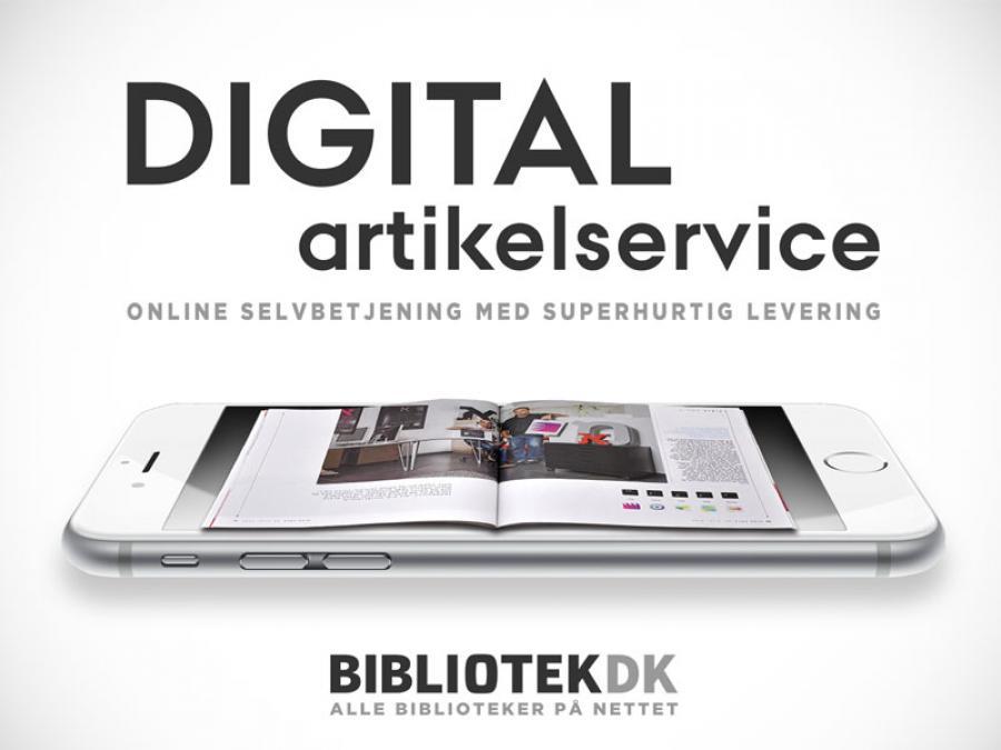 Logo for Digital artikelservice