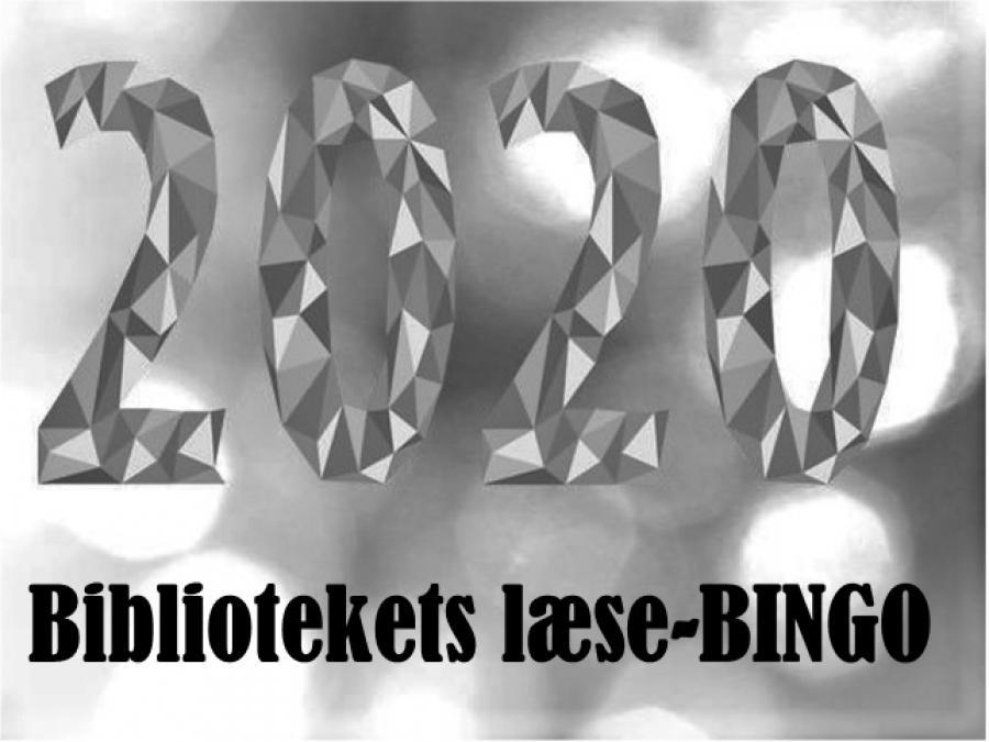2020 bibliotekets læse-BINGO.
